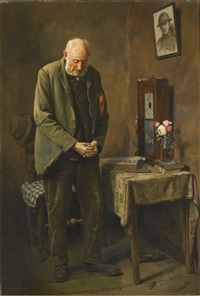 two minutes silence by charles spencelayh