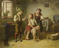 children at play by edmund adler