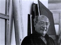 mark rothko in his studio (+ 3 others; 4 works) by hans namuth