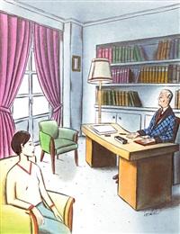 grand-père by jacques de loustal