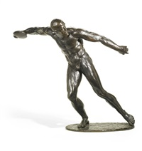 discus thrower by marcel homs