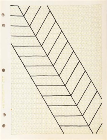 drawing for fall by carl andre
