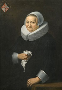 portrait de dame âgée de 84 ans by frans hals the elder