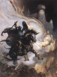 the defender by frank frazetta