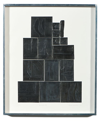 the great wall by louise nevelson