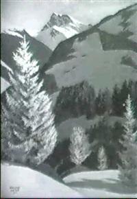 im hochgebirge by bruno hess