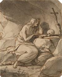 büßende magdalena by friedrich von amerling