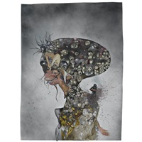 missing sea and my land by wangechi mutu