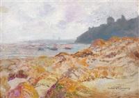 paysage de bord de mer by victor charreton