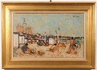 sur la plage du havre by joseph raumann
