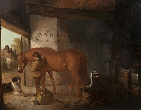 waiting for the blacksmith by edward robert smythe
