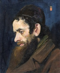 portrait of a jew by moritz gottlieb