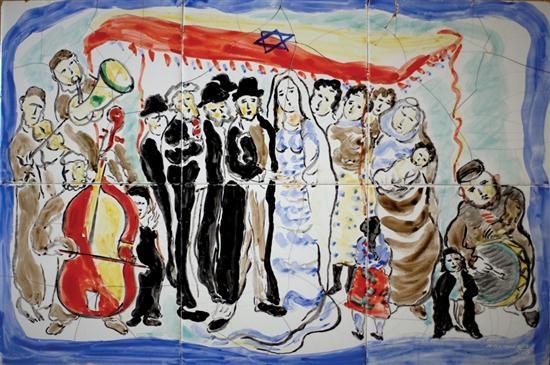 wedding by mané-katz