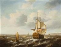 marinha com barcos by jean laurent