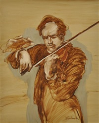 le violoniste by claude weisbuch