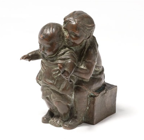 two young children by abastenia st. leger eberle