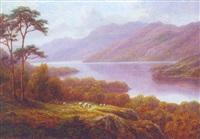 loch earn, scotland by everett w. mellor