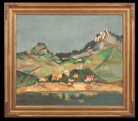 provencal landscape by joseph floch