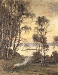 la maison au bord du fleuve by valery sekret