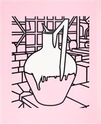 jug (pink) by patrick caulfield