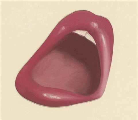 study mouth for smoker by tom wesselmann