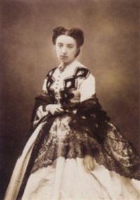portrait de femme by marie-alexandre (menut) alophe