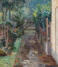 gartenpforte by ernst liebermann