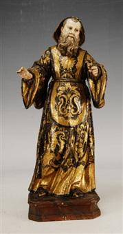 san francisco de paula madera tallada y policromada y dorada by portuguese school (18)