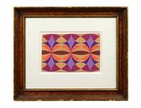geometric composition by giacomo balla