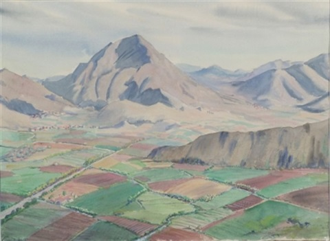 mountain view 2 others 3 works various sizes by agnes anne abbot