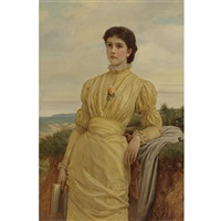portrait of a lady by charles edward perugini
