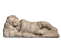 bacco fanciullo addormentato – der junge bacchus im schlafe by giusto le court