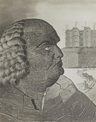 Portraits imaginaires du Marquis de Sade by Man Ray on artnet