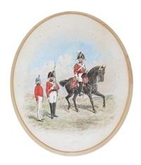 grenadier guards (+ grenadier guards, smllr; 2 studies) by richard simkin