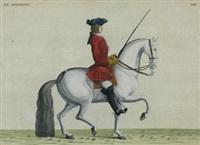 le diligent; le charme (2 works) by bernard picart