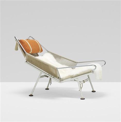 Flag Halyard Lounge Chair By Hans J. Wegner