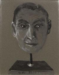 portrait de t.s. elliot by aldo mondino
