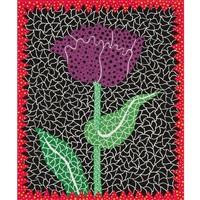 tulipe(i) by yayoi kusama