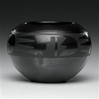 bowl by maria and julian martinez