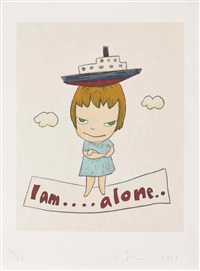 i am alone by yoshitomo nara