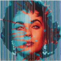 colour genome project # 28, liz taylor by dipo andy