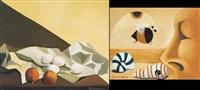 uova e melograni (+ sfigne e conchiglie, smllr; 2 works) by antonino gambadoro