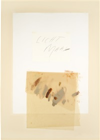 licht maal iii by cy twombly