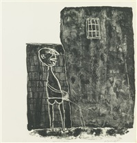 pisseur au mur by jean dubuffet