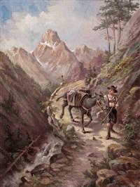 am transportpfad über die alpen by hugo spindler