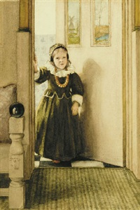 may i come in? by laura theresa alma-tadema