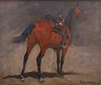 saddles horse by richard lorenz