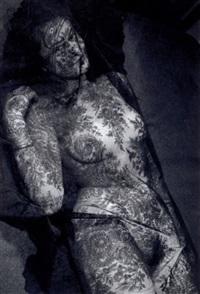 femme à la dentelle by emil van moerkerken