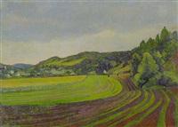 landschaft - fränkischer jura by adolf jutz