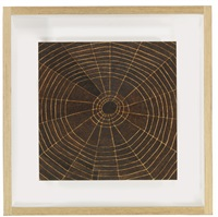 untitled (spider web study #1) by tom sachs